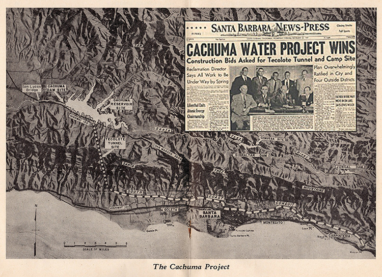 Cachuma Map and Article 1949