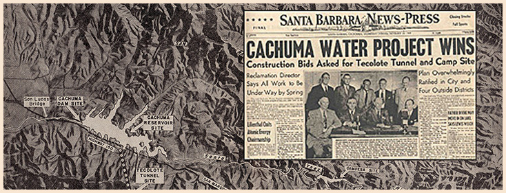 Cachuma News Press Headline and Article