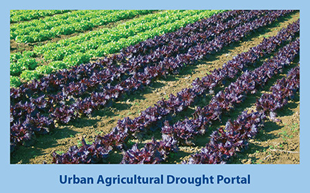 Urban Agricultural Drought Portal