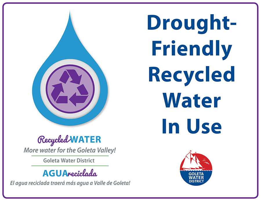 Recycled Water Sign Web Graphic REV